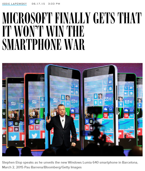 Wired article about Microsoft's dire future, apparently